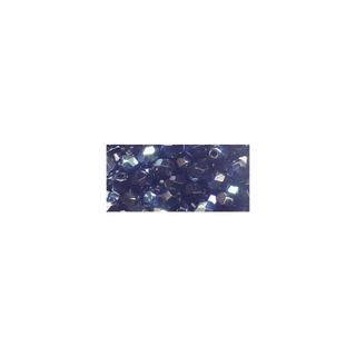 Perles transparentes en verre depolis 6 mm ø Irisees onyx