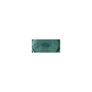 Pierres strass en plastique, 5 mm ø, boîte 60 pces emeraude