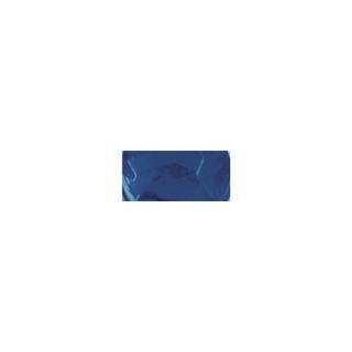 Pierres strass en plastique, 6 mm ø, boîte 50 pces saphir