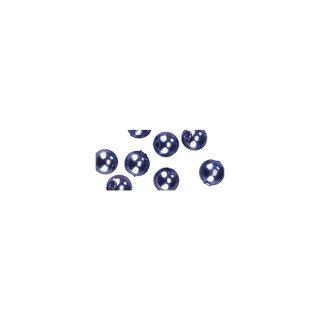 Perles en cire, 3mm ø lilas fonce,