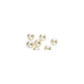 Perles en cire, 3mm ø creme,