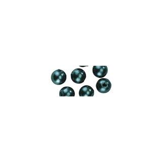 Perles en cire, 6mm ø vert,