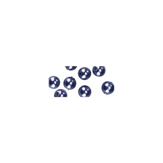 Perles en cire, 6mm ø lilas fonce,