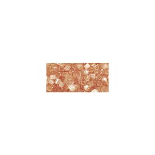 Chevilles en verre, transparent, 2x2 mm orange