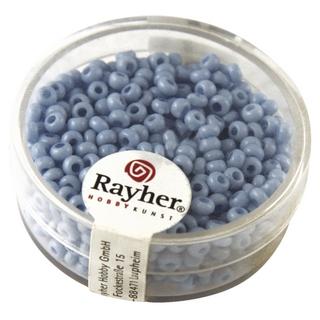 Rocailles, porcelaines, 2,6 mm ø bleu clair