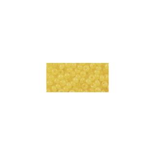 Rocailles, 2,6 mm ø, albâtres jaune