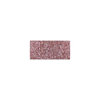 Rocailles, transparentes, 2,6 mm ø rose ancien