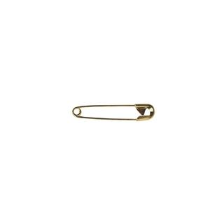 Epingle de sûrete, 28 mm, 0,80 mm ø, boîte 50g - 135 pces or
