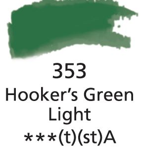 Aquarelles Extra-Fines Artist's Hookers Green Light (A)