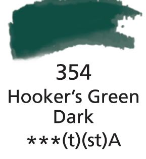 Aquarelles Extra-Fines Artist's Hookers Green Dark (A)