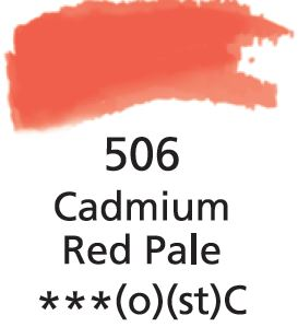 Aquarelles Extra-Fines Artist's Cadmium Red Pale (C)