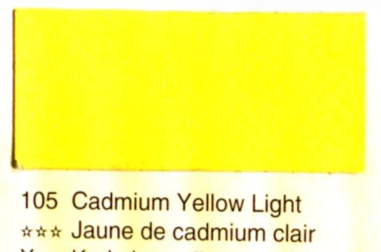 Aquarelle Espanoleto extra-fine tube 8 ml JAUNE DE CADMIUM CLAIR