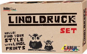 KREUL Kit de linogravure Hobby Line kit