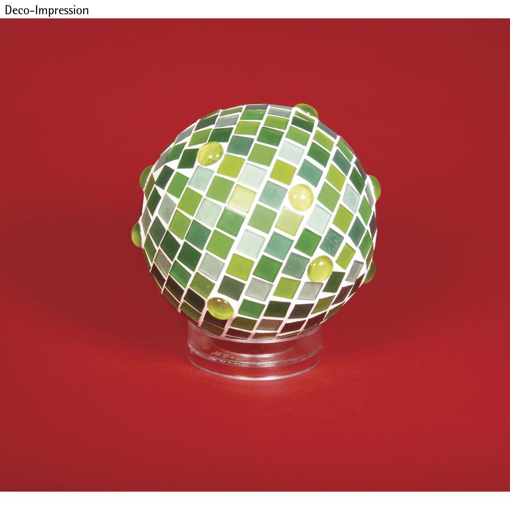 Socle pour boule en plastique,  6 cm ø