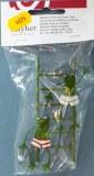 Grenouille en metal sur echelles, 9 cm, sct.-LS 1 pce