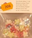 Miniatures acryliques Fleur, 11 mm, sct.-LS 40 pces, assorties