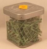 Epingle de surete, 28 mm, 0,80 mm a¸, boite 50g - 135 pces, vert clair