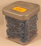 Epingle de surete, 34 mm, 0,80 mm a¸, boite 50g - 115 pces, bleu moyen