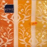 Serviettes, 33x33 cm, paquet 20 pces, Vrille de fleurs