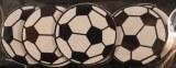 Petits objets en bois: Football, 3 cm, sct.-LS 6 pces