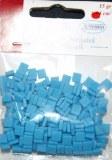 Mosaique resine haute qualite couleur bleu turquoise 0.5 cm (15g environ 64cm²)
