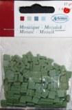 Mosaique resine haute qualite couleur vert olive 0.5 cm (15g environ 64cm²)