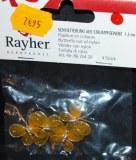 Papillon en collants, 1,5 cm, sct.-LS 4 pces, jaune