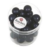 Perles en verre Renaissance. opales 10 mm. boîte 35 pces bleu nuit