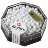 Miyuki-Perle-Drop. opaque ? 3.4 mm. boite 12 g blanc