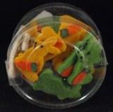 Lapins en feutrine, 3,5 cm, 3 couleurs, boite 24 pces, assorties