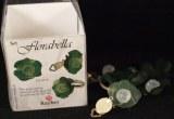 Kit bijoux Flora bella, 1 bague + 2 boucles doreilles, 2,5 cm, vert moyen