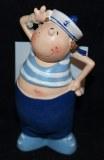 Matelot en polyresine Toby, 9 cm