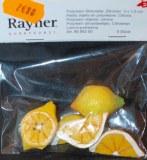 Petits objets en polyresine: Citrons, 3x1,5 cm, 2 sortes, sct.-LS 5 pces