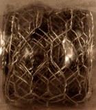 Grille pour decorations, 5 cm de large, sct.-LS 2,45 m, platine