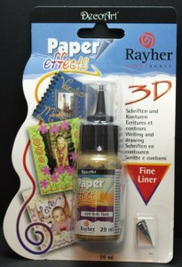 Paper Effects, flacon 29 ml, or brillant