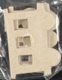 Accessoires en papier-mache, plates, Locomotive, sct.-LS 3 pces