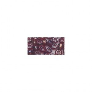 Rocailles. 2.6mm ø. transparentes lustre boîte 17 g lilas